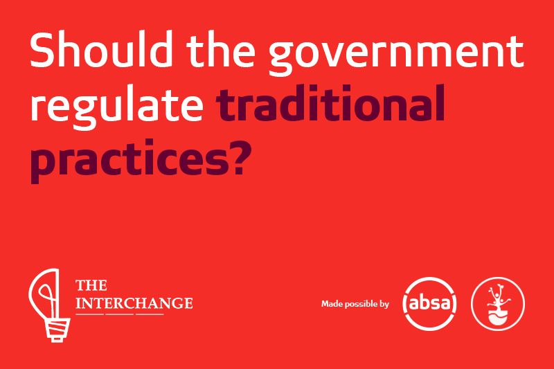 Should the government regulate traditional practices?