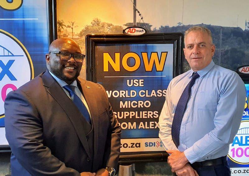 Andile Ramaphosa and Brad Fisher