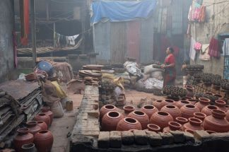 Pottery Unit in Dharavi