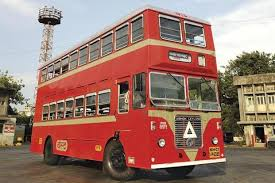 The iconic double decker BEST buses of Mumbai