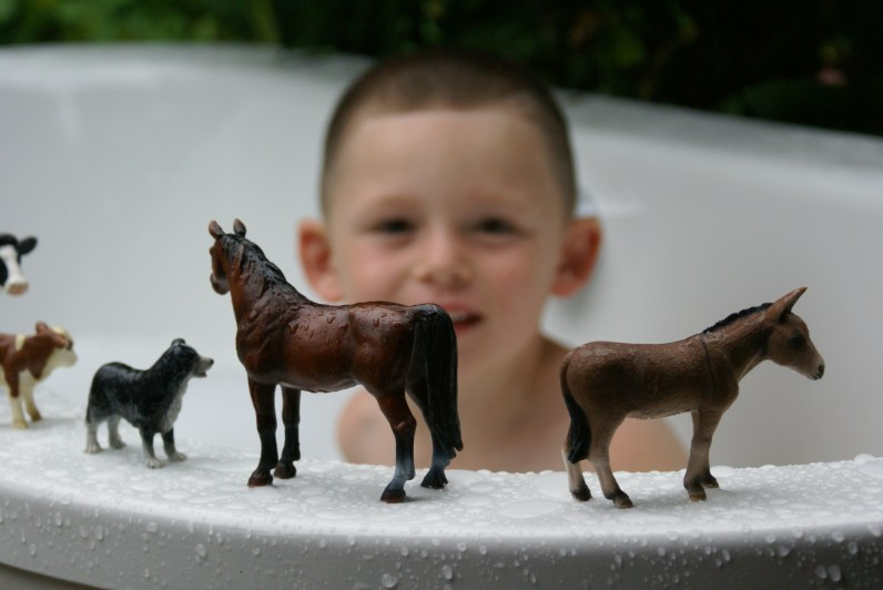Fun in the bath