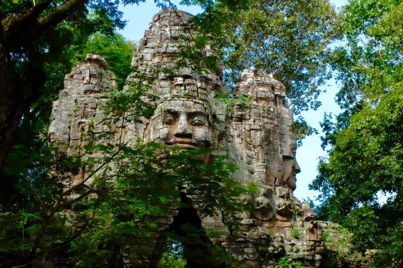 Those smiling faces, Angkor Wat
