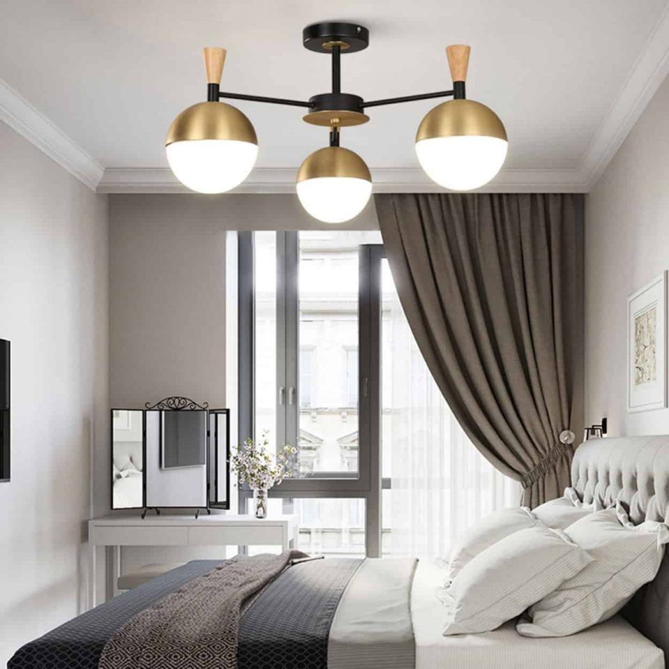 bedroom ceiling lamp decor
