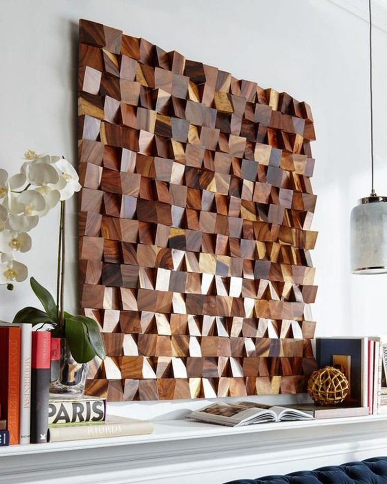 diy wood wall art make art from scrap