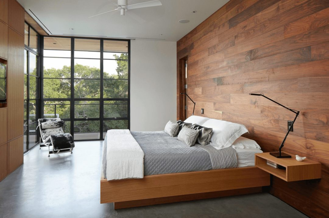 diy wood walls bedroom interior paneling