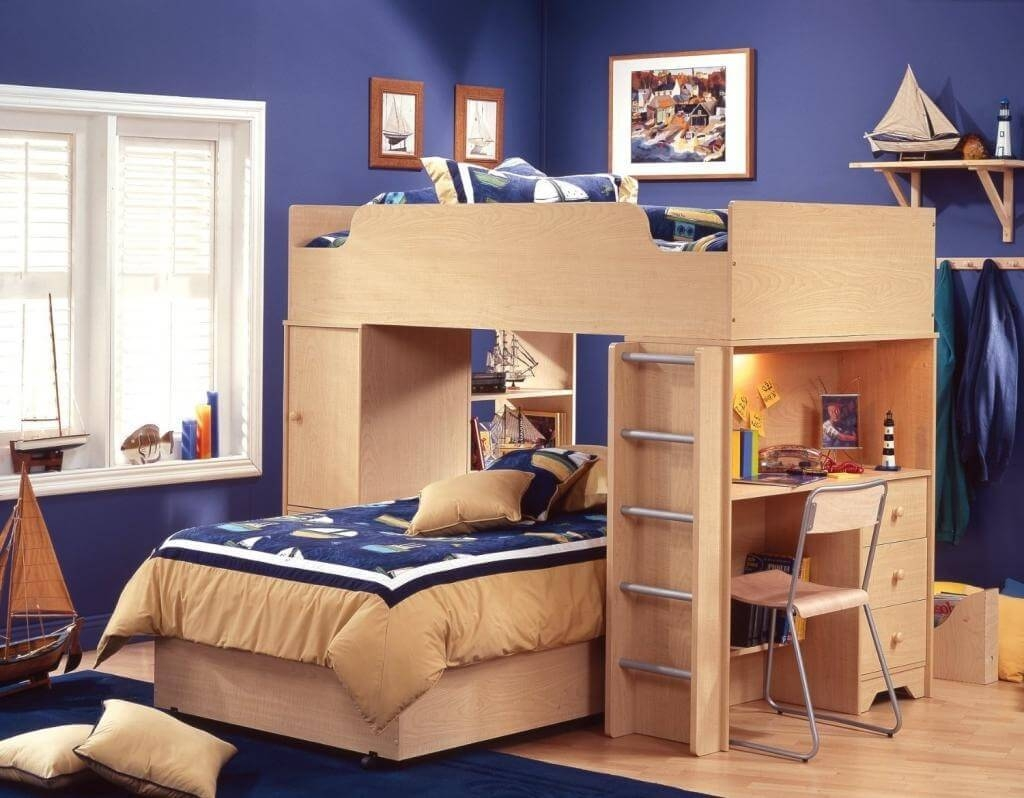 twin bedroom sets ideas for children