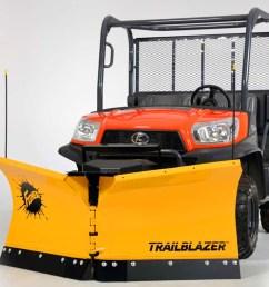 0 fisher trailblazer v plow snowplow for utvs 1  [ 1200 x 759 Pixel ]