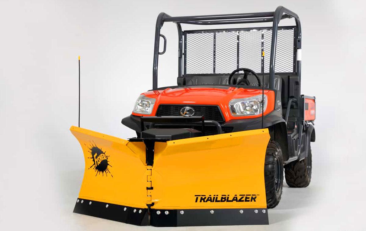 hight resolution of 0 fisher trailblazer v plow snowplow for utvs 1
