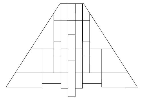 """5103 Descent 14"""" Prairie Lampshade pattern"""
