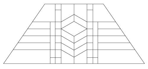 "5204 12"" x 18"" Prairie Lampshade pattern"