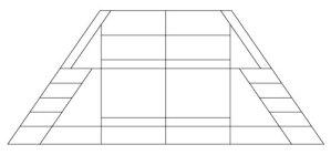 "5205 12"" x 18"" Prairie Lampshade pattern"