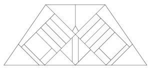 "5208 12"" x 18"" Prairie Lampshade pattern"