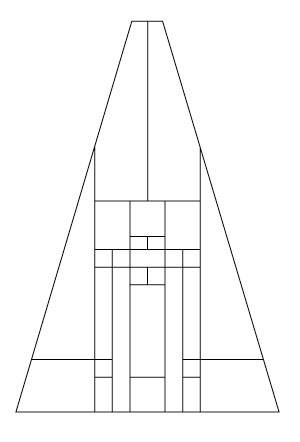 "5803 Plateau 20"" Octagonal lampshade pattern"