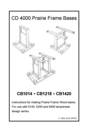 CD 4000 Prairie Frame base pattern