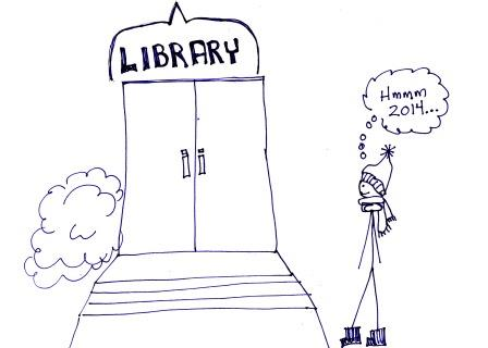 Life, Kids, and Books: Stick Figure Visits the Library