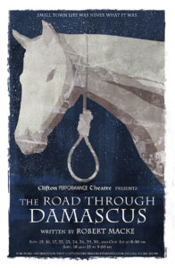 The Road Through Damascus poster - Art by Kevin Necessary