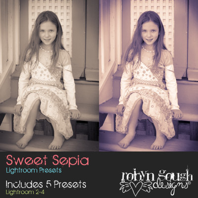 Sweet Sepia Lightroom Presets by Clikchic Designs