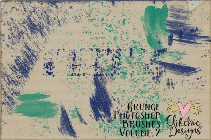 Grunge Photoshop Brushes Volume 2