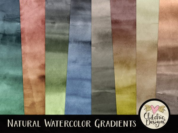 Natural Watercolor Gradients