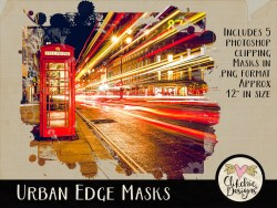 Urban Edge Photoshop Clipping Masks