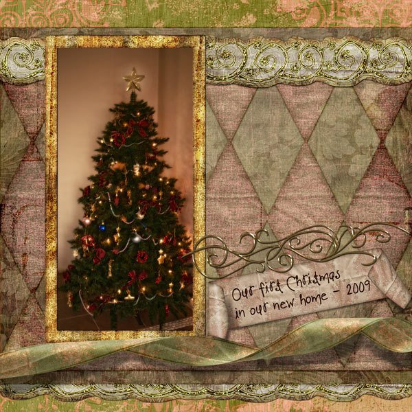 Merry Brrr Christmas Digital Scrapbook Kit