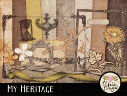 My Heritage Digital Scrapbook Kit