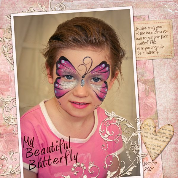 Shabby Amore Digital Scrapbook Kit