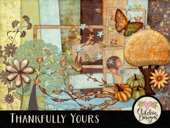 Thankfully Yours Digital Scrapbook Kit
