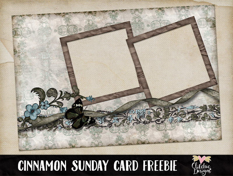 Cinnamon Sunday Quick Page Freebie by Clikchic Designs