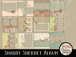 Shabby Sherbet Quick Page Album