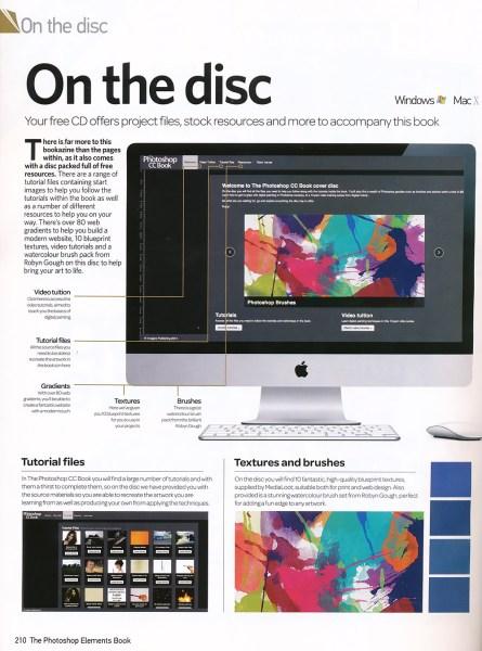 Photoshop CC Book Freebie Publication by Clikchic Designs Designs