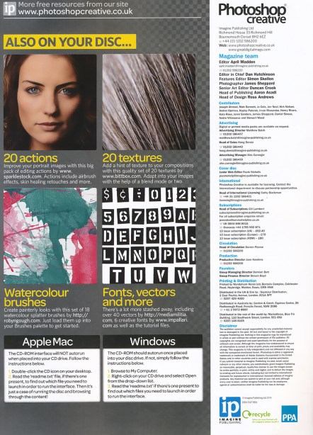 Photoshop Creative Magazie Freebie Publication by Clikchic Designs