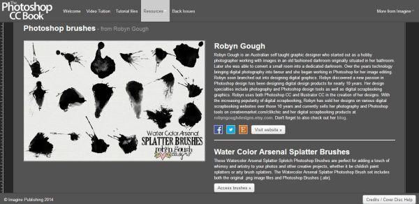 Photoshop CC Book Freebie Publication by Robyn Gough Designs