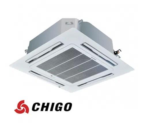 Инверторен климатик Chigo касетен тип CCA-24HVR1 на ВИП цена от Clima.VIP