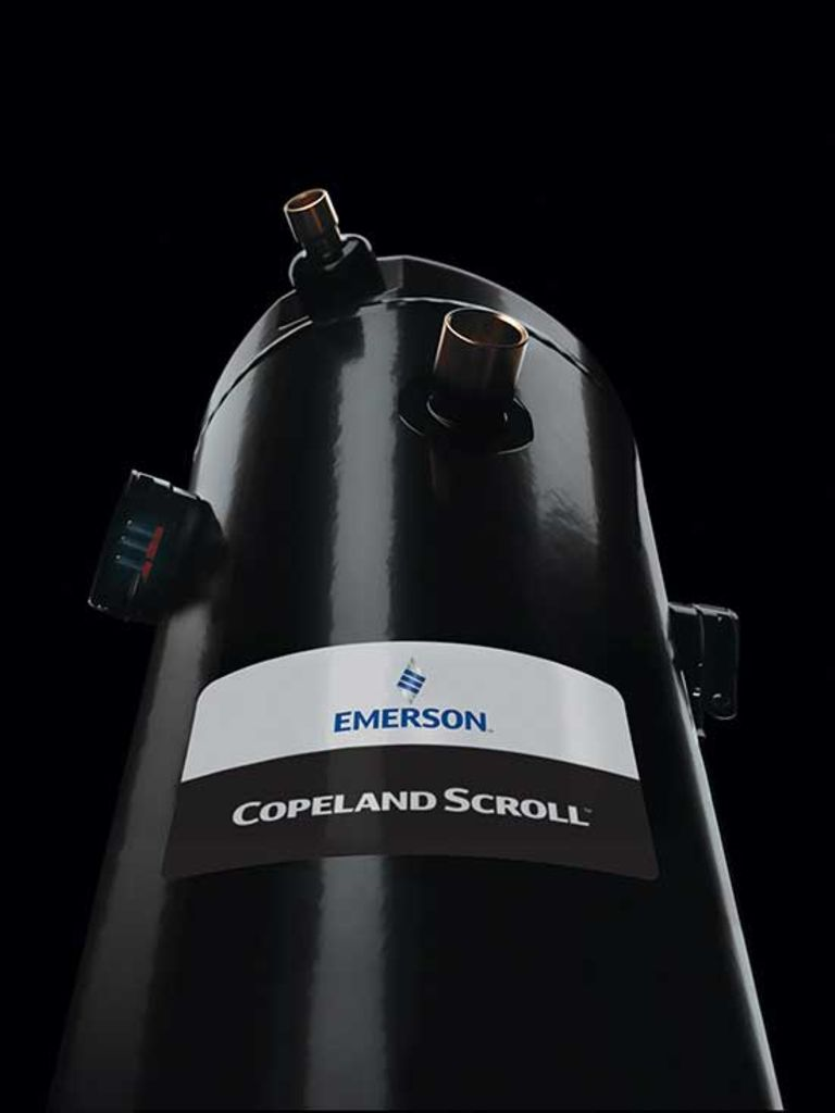 hight resolution of copeland scroll compressor