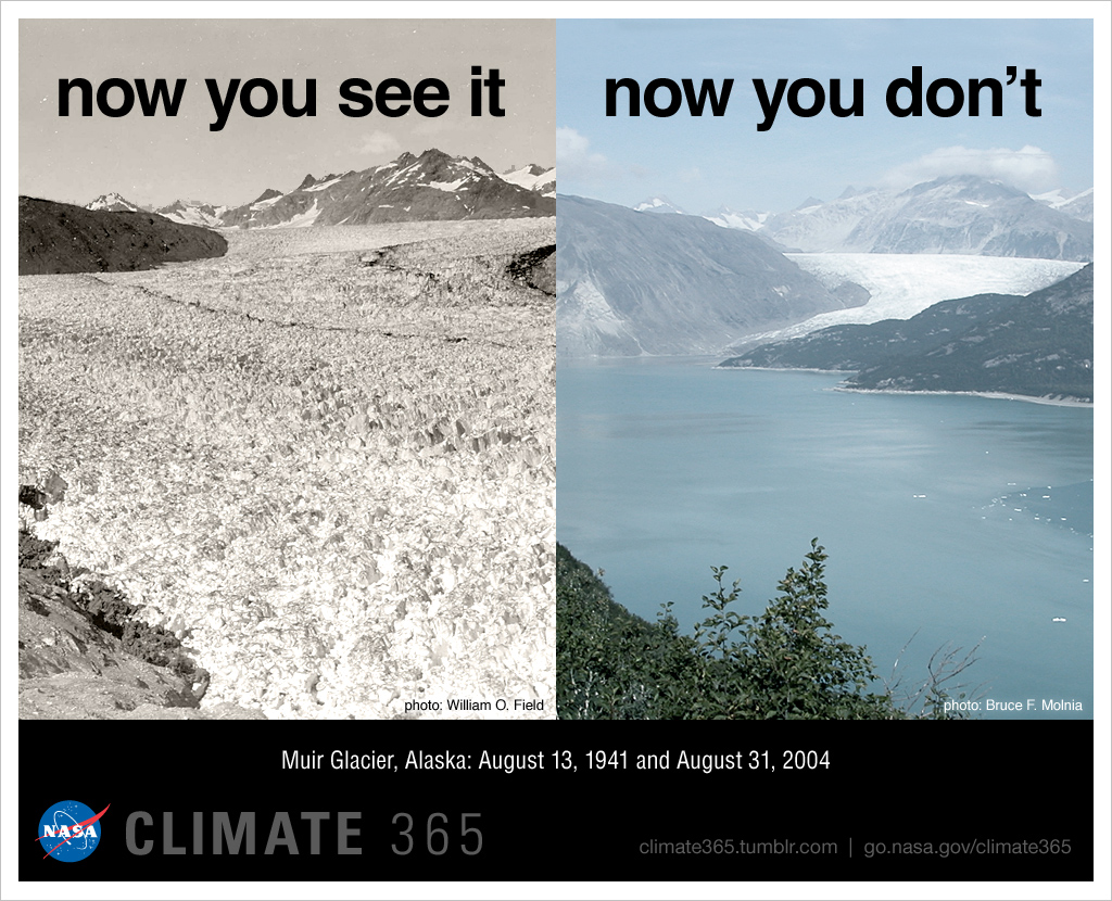 Image result for before and after glacier melt