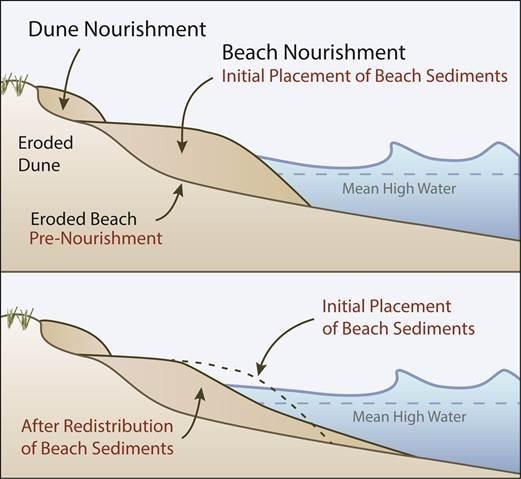 waterfall formation diagram kenworth jake brake wiring restore natural coastal buffers: beach and dune nourishment restoration   massachusetts ...