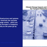Climate Change Adaptation Report on European Transport Infrastructure