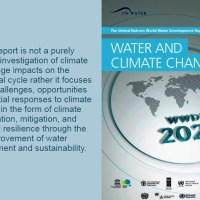 Water and Climate Change, a UN 2020 Report