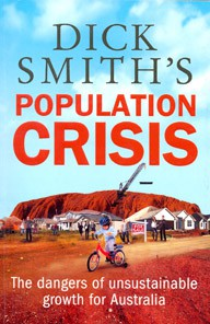 """Cover of """"Dick Smith's Population Crisis"""""""