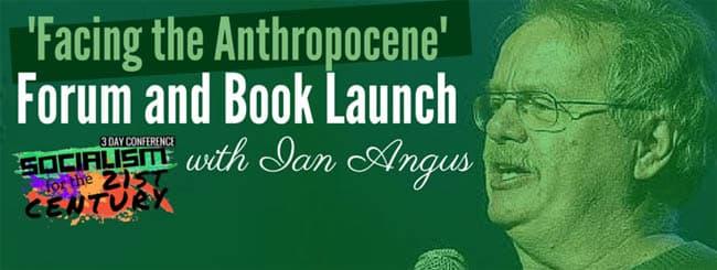 Facing Anthropocene Book Launch