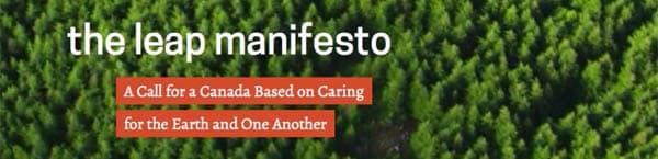 The Leap Manifesto