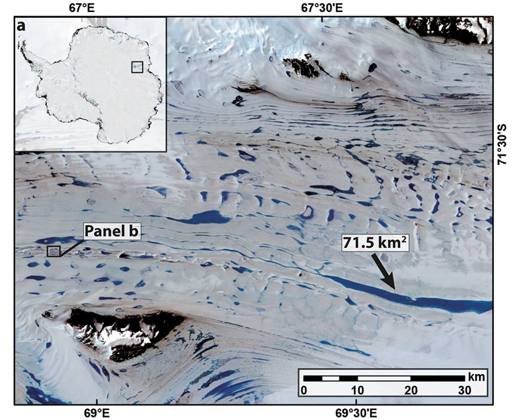 Fig. 4: 'Top down' melting on the EAIS. Click on the image to see the full report (Image: Stokes et al.)