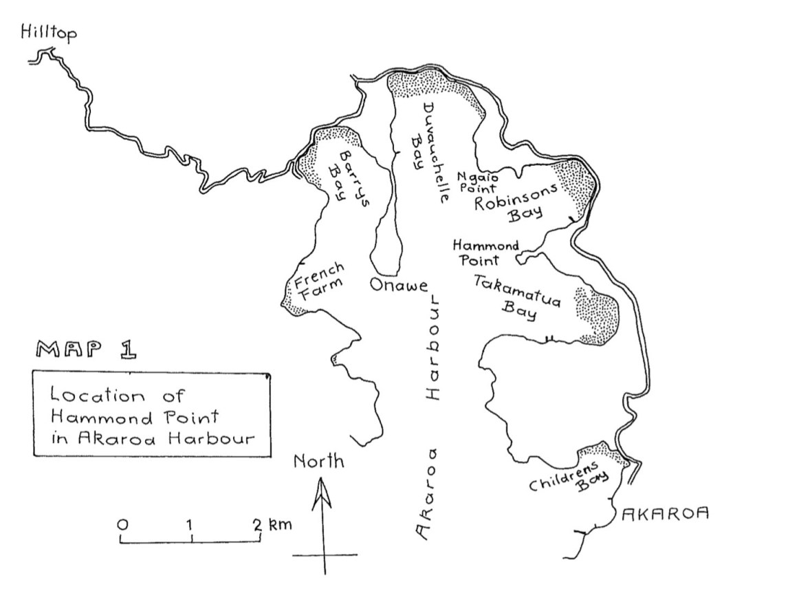 Fig. 5: Location map. (Image: Hugh Wilson)