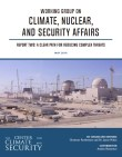 Working Group on Climate Nuclear and Security Affairs Report Two