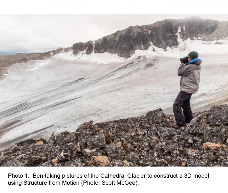 Cathedral Glacier 2015 exp