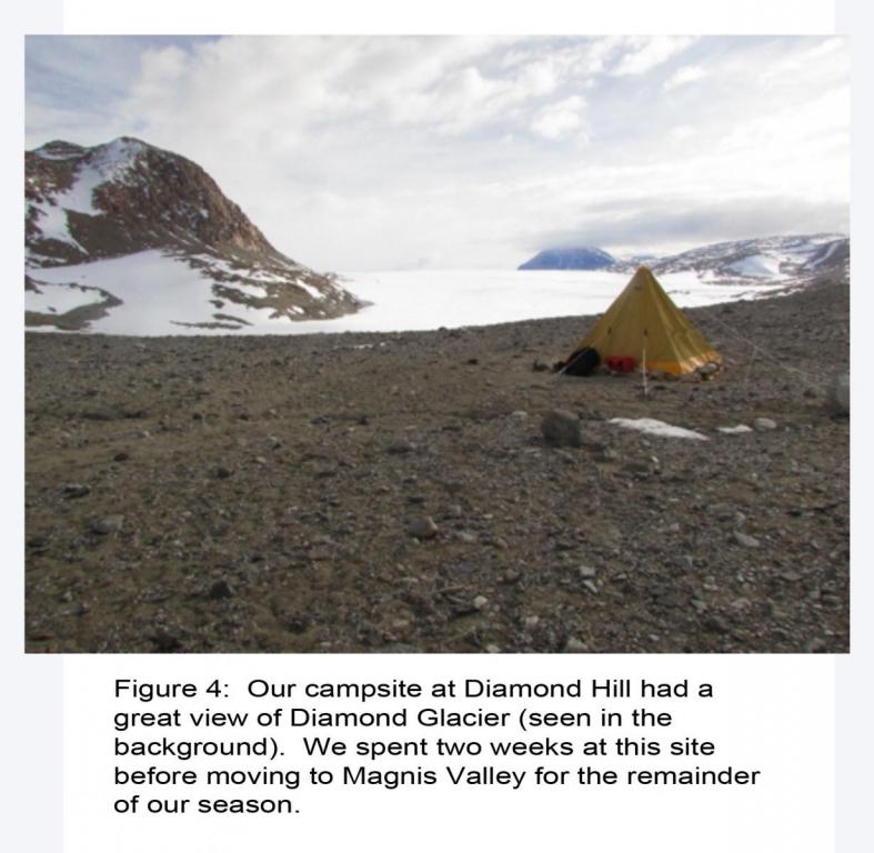 Hatherton Darwin Glacier 2014-15