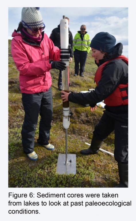 Microbial Ecologies SW Greenland 2014 Exp