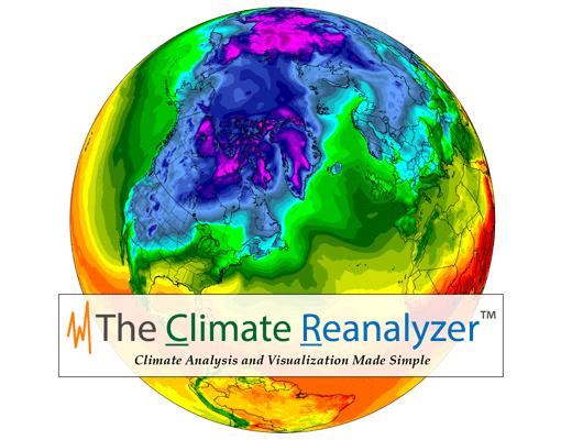 The Climate Reanalyzer Globe