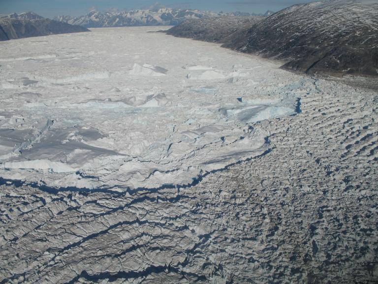 Fast Glacial Flow Exp 2006